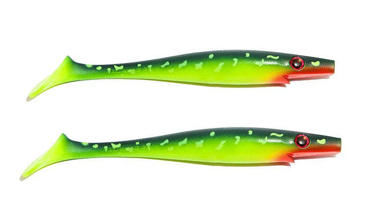 Picture of Pig Shad Jr - Hot Pike - 2 pack