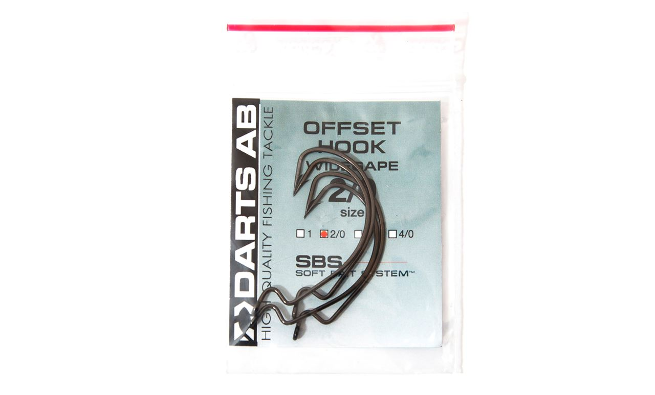 Picture of Darts Offset Wide Gap Hook - 3 pack