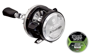 Picture of Gunki BCR 400 HD Baitcasting Reel including line