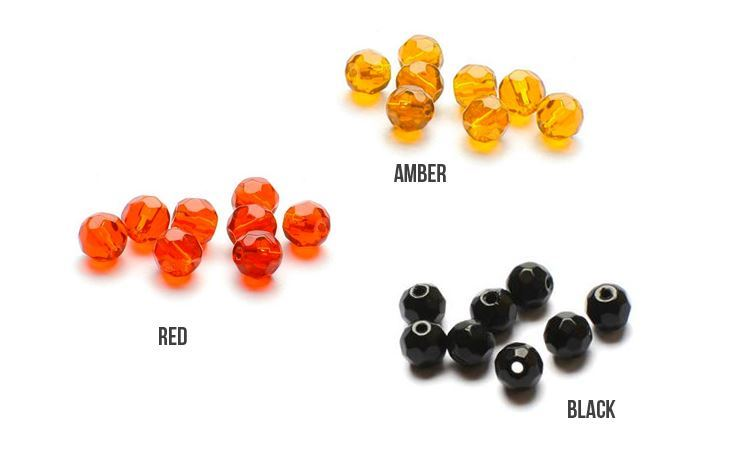 Picture of Darts Glass Beads - Faceted