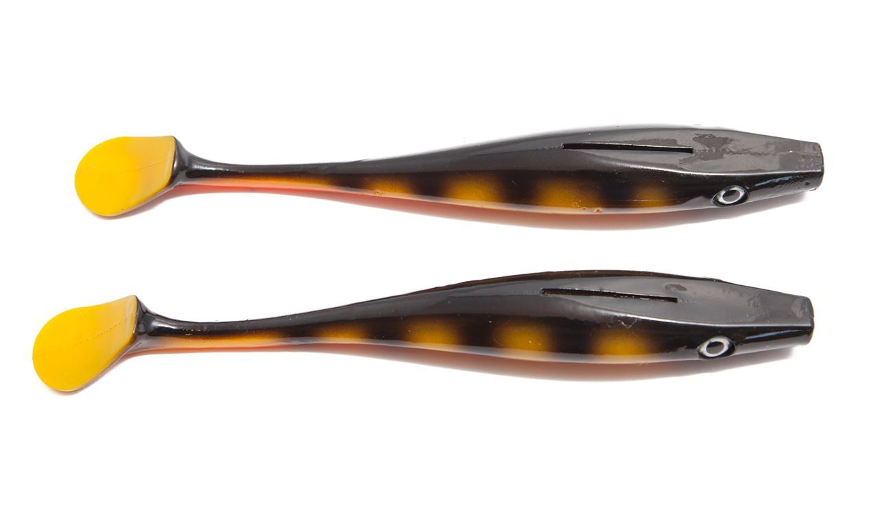 Picture of Pig Shad Jr - Black Okoboji Perch - 2 pack
