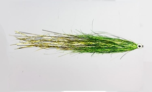 Picture of Pike Fly - Bauer's UV Green Gold
