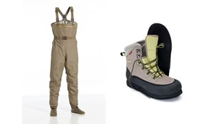 Picture of Vision Hopper Waders and Wader Shoes Kit