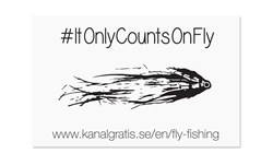 Picture of Sticker - #ItOnlyCountsOnFly