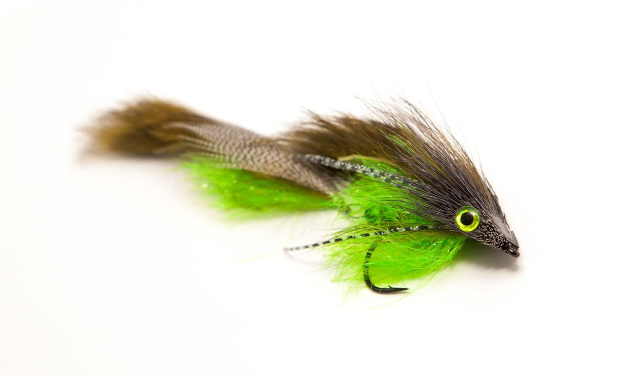 Picture of Andersson's Sid - Brown/Chartreuse