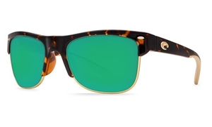 Picture of Costa PAWLEYS Retro Tortoise- Green Mirror 580P