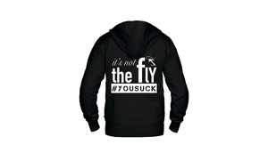 Picture of Leech Hoodie - It's not the fly #yousuck XXL