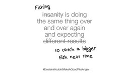 Picture of T-Shirt Fishing Insanity - White, Size S