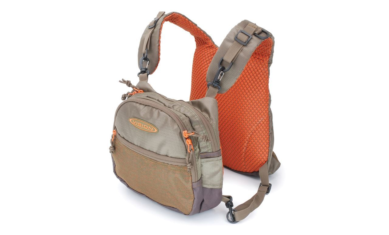 Picture of Vision chest bag - Mycket Bra Military green