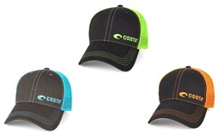 Picture of Costa Neon Trucker Offset Logo Hat