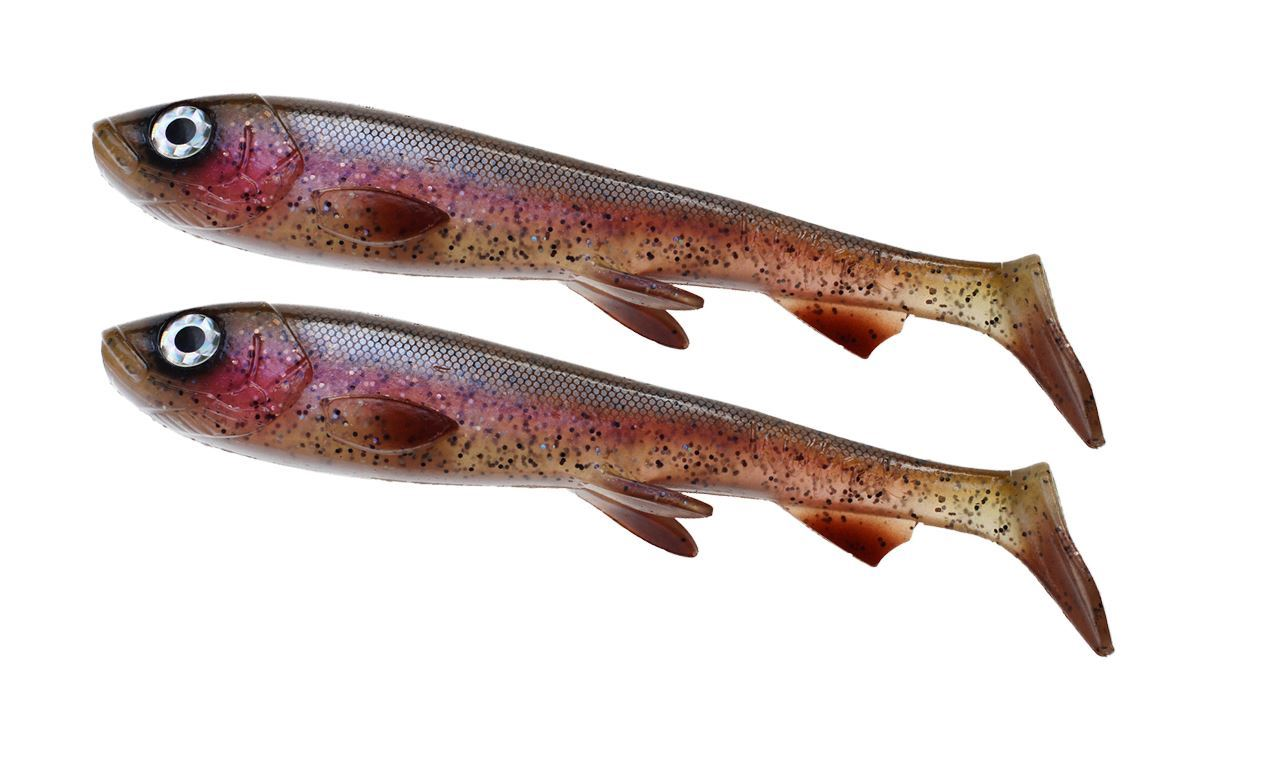 Picture of Wolfcreek Shad 2-pack - Rainbow Trout