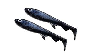 Picture of Wolfcreek Shad Jr 2-pack - Black Baitfish