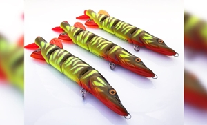 "Picture of Lucky Lures - Esox Jr ""Hot Pike"""