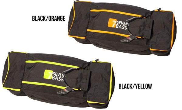 Picture of Seven Bass Cargo Bag -  Classic PLUS Black/Orange