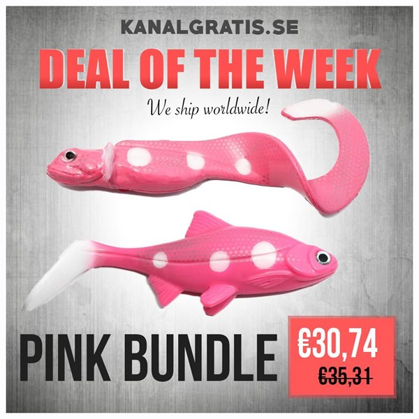 Picture of Pink Bundle - Nettel Laken and Hooligan Roach
