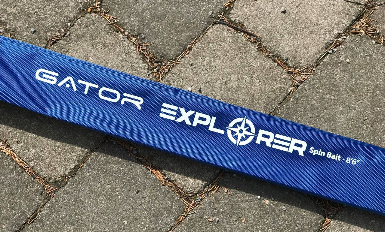 "Picture of NEW Gator Spin Bait Explorer 8'6"" -110 gr"