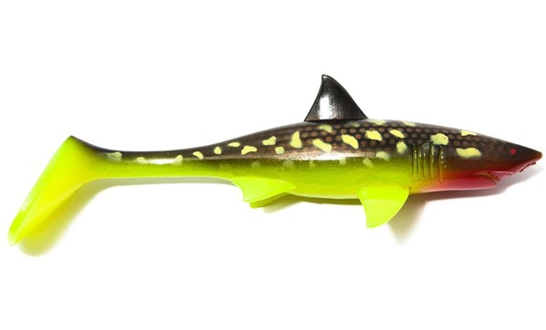 Picture of Shark Shad - Hot Pike 20 cm