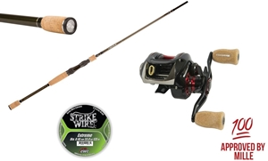 Picture of Mille Pettersson´s Small Bait Pikefishing Combo