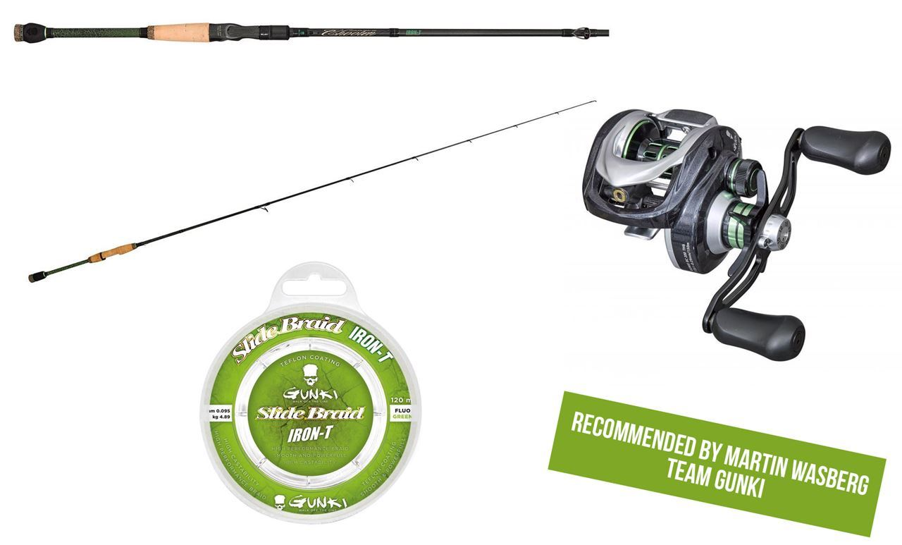 Picture of Baitcasting Combo Perch Fishing - Rod, Reel & Line from Gunki