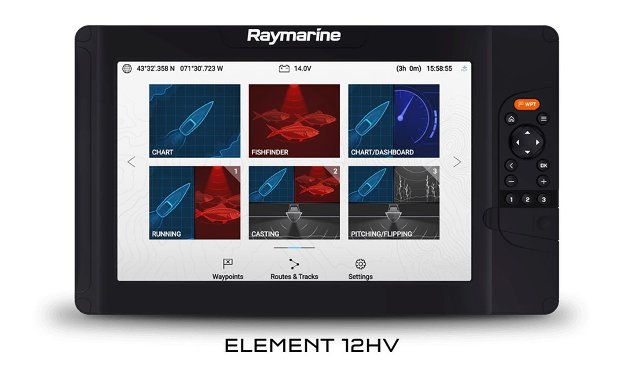 Picture of Raymarine Element 12'' with HV-100 transducer