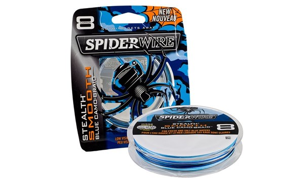 Picture of Spiderwire Stealth Smooth 8 Braid Camo Blue