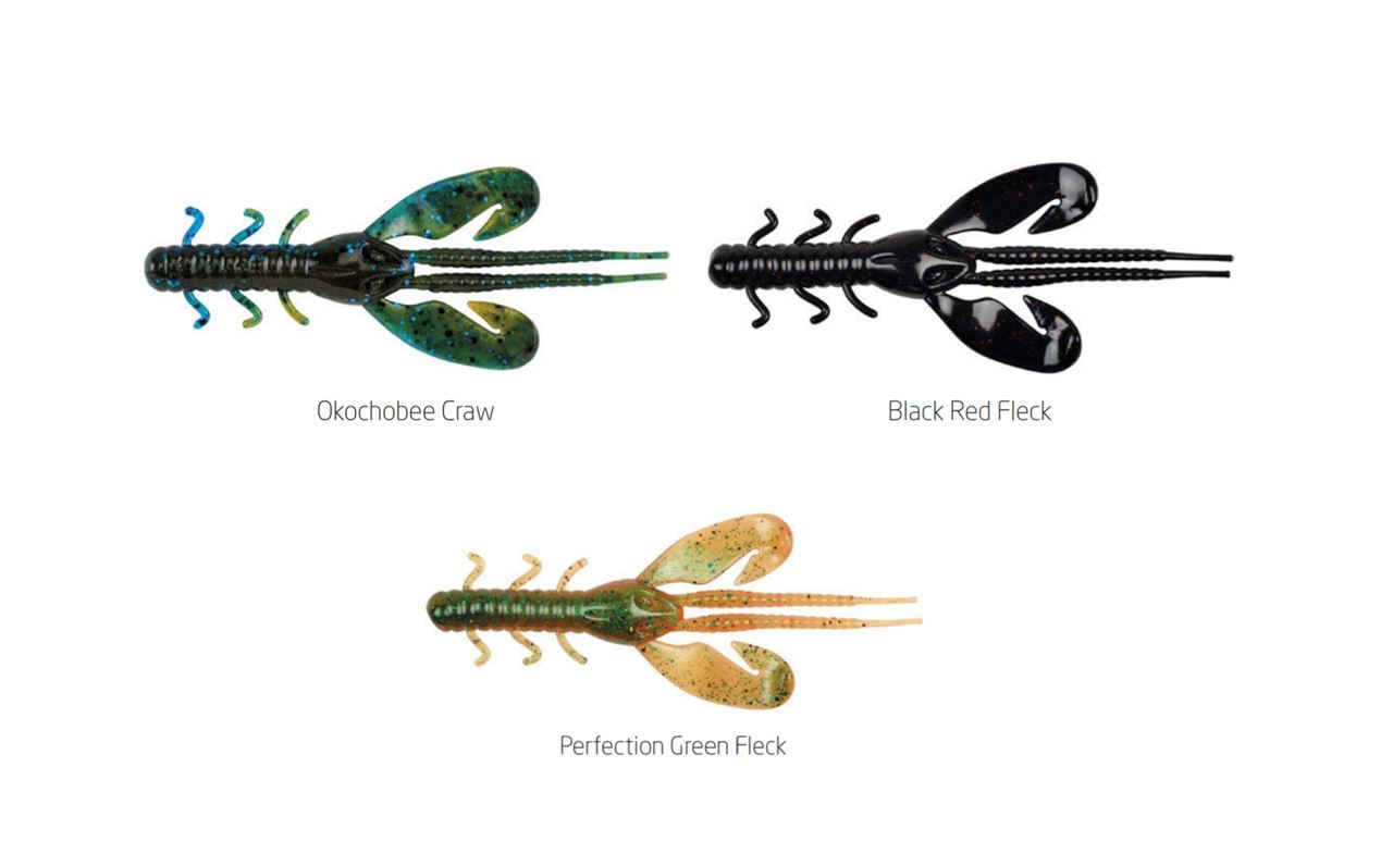Picture of Berkley PowerBait® Rocket Craw 10cm 8-pack