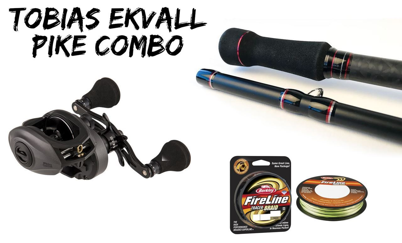Picture of Tobias Ekvall's Pike Combo 40-120gr Baitcasting