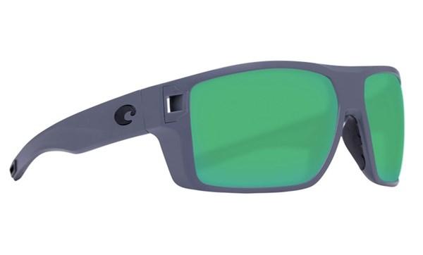 Picture of Costa DIEGO matte gray - green mirror 580P