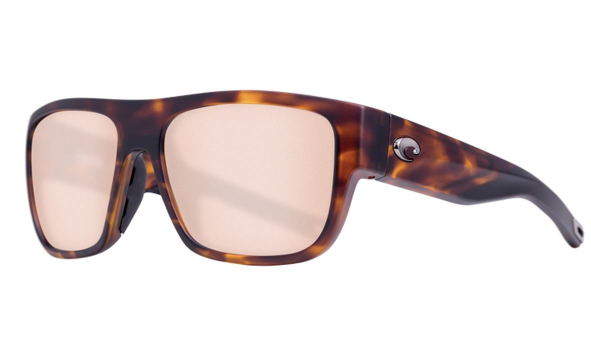 Picture of Costa SAMPAN matte tortoise - copper silver mirror 580P