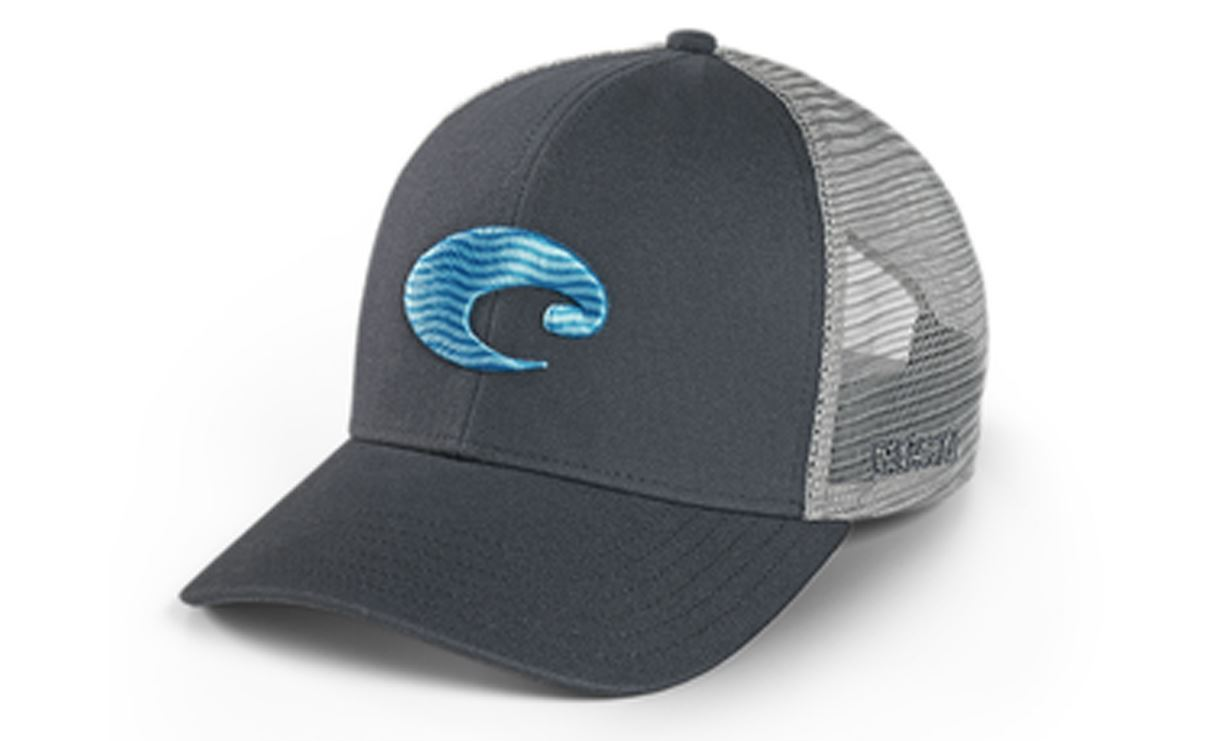 Picture of COSTA REGULAR FIT TRUCKER WAVE HAT GRAY