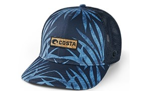 Picture of COSTA XL FIT TOPO TRUCKER COCO PALMS HAT BLUE