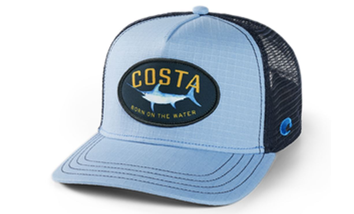 Picture of COSTA WOVEN TRUCKER SWORD HAT BLUE