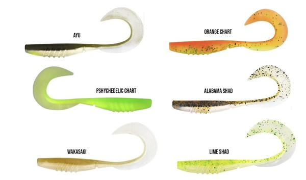 Picture of Megabass X Layer Curly 17 cm 4-pack