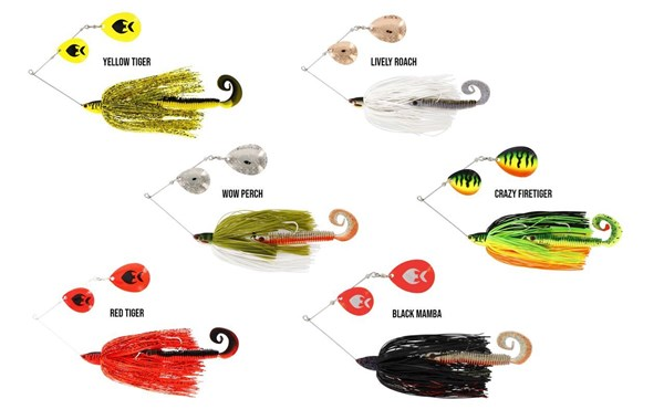 Picture of Westin MonsterVibe (Colorado) 65g Spinnerbait