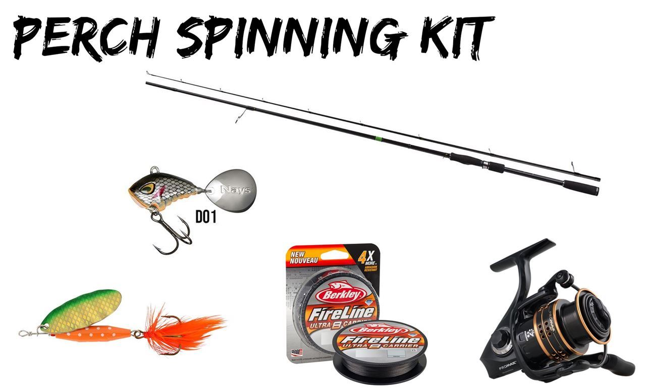 Picture of Perch Fishing Combo - Spinning