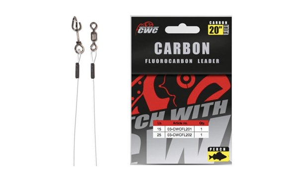"""Picture of CWC Fluorocarbon Leader 20"""" (50cm) Perch"""