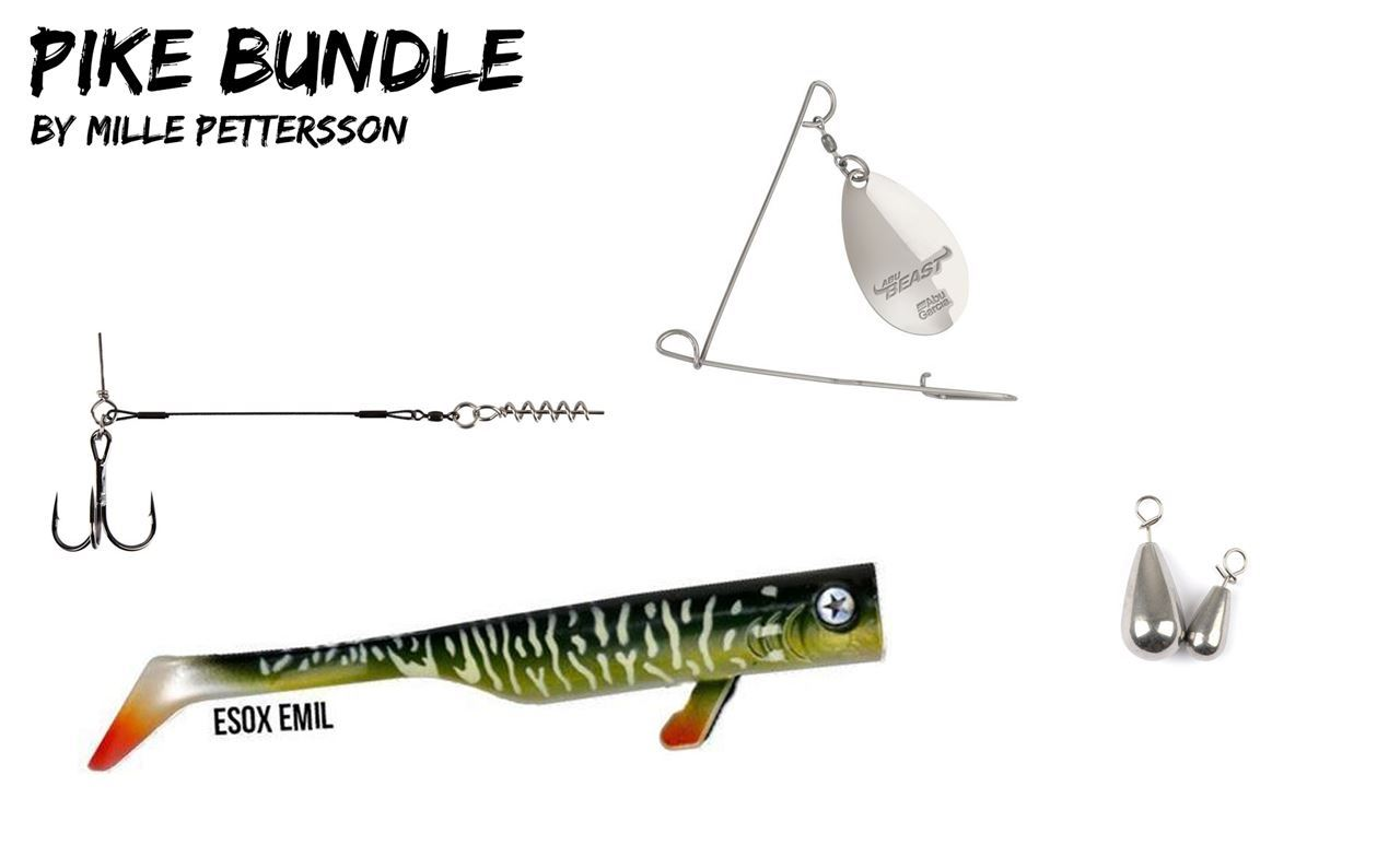 Picture of Pike Bundle with Drunk Bait and Insta Spinnerbait