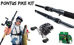 Picture of Gator Explorer and Daiwa Tatula kit (Pontus Pike Set-up)