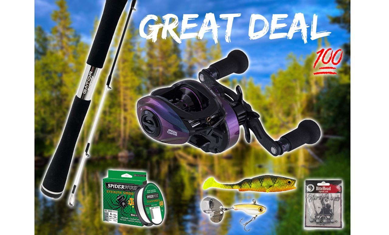 Picture of Perch Fishingset Baitcasting (Gator and Abu Garcia)