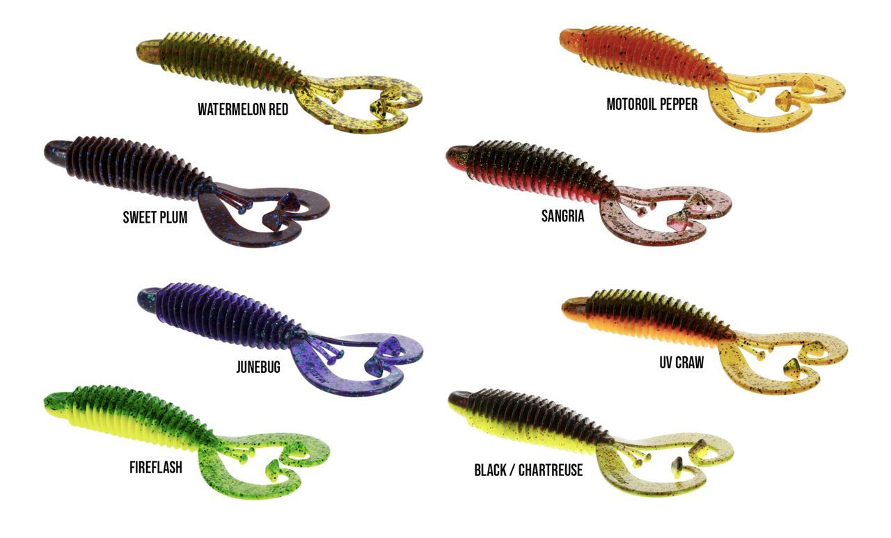 Picture of Westin RingCraw Curltail 9cm 5-pack