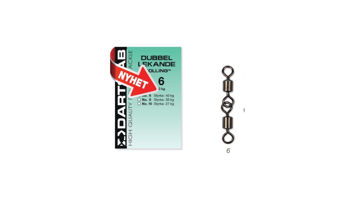 Picture of Darts Swivel Double #6, 3-pack
