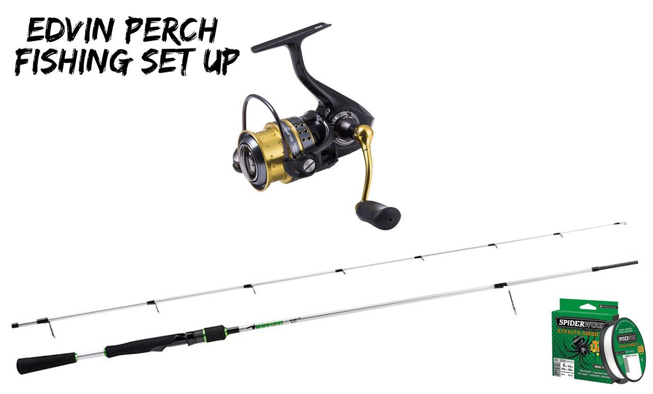 Picture of Edvins Perch fishing Set Up Spinning UL