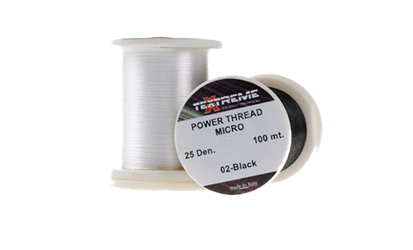 Picture of POWER THREAD MICRO - 25 Den. - White (100meter)