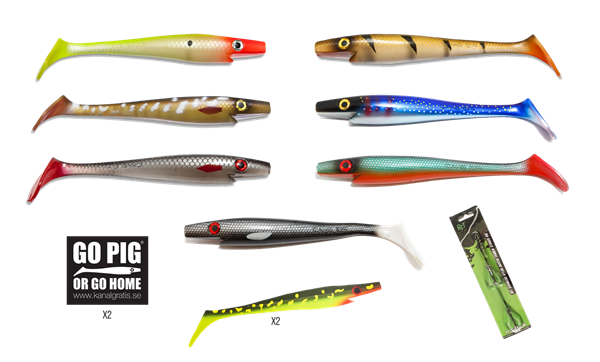 Picture of The PIG SHAD 23cm BUNDLE (custom colors)