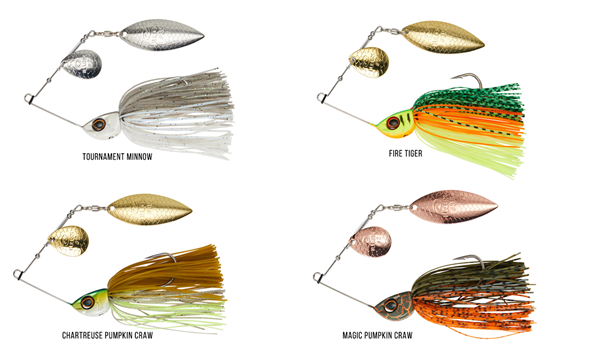 Picture of Illex Crusher Jr. spinnerbait 10 g