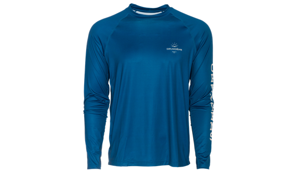 Picture of Grundéns Solstrale Lightweight Crew Deep Water Blue