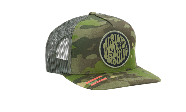 Picture of Vision Psyke Green Camo Cap