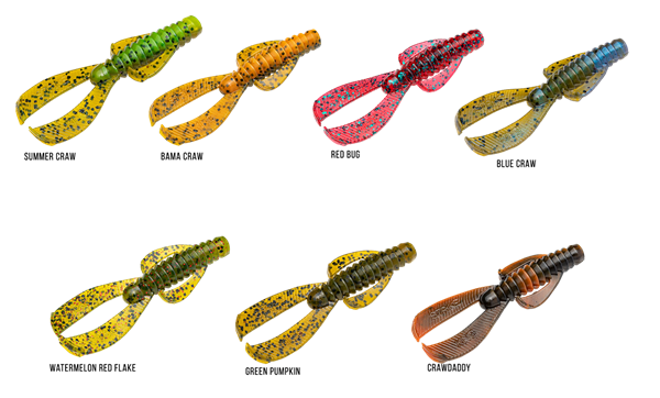 Picture of Strike King Rage Ned Bug 6,5cm (9-pack)