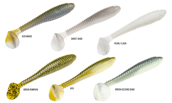 Picture of Strike King Rage Swimmer 12cm (6-pack)