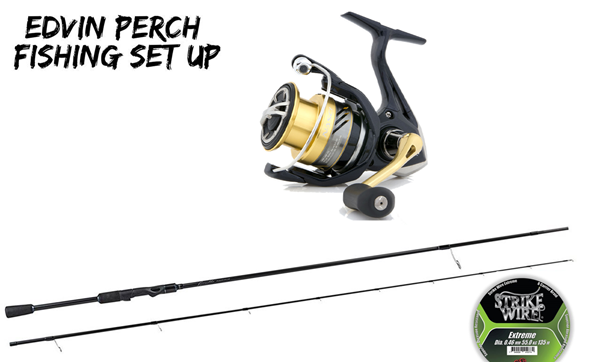 Picture of Edvins Perch fishing Set Up Spinning